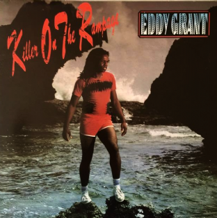 Eddy Grant ‎- Killer On The Rampage (LP) (VG/VG)